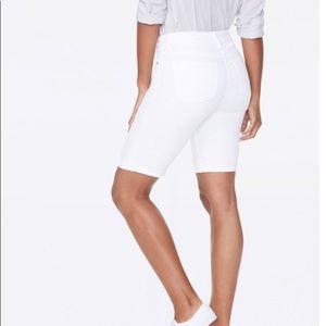 White Mark Denim Bermuda Shorts